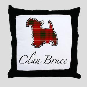 Bruce - Scotty Dog - Throw Pillow