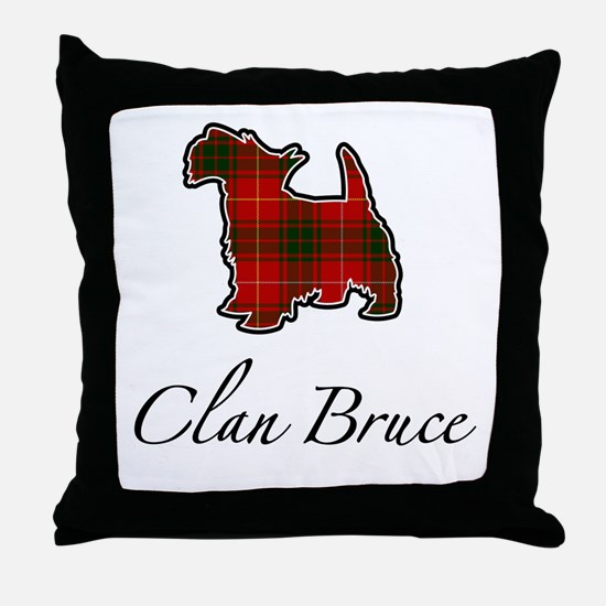 Bruce - Scotty Dog - Throw Pillow