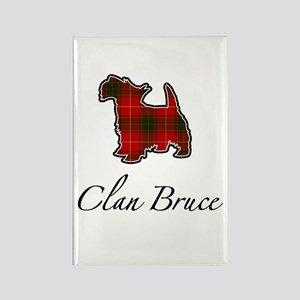 Bruce - Scotty Dog - Rectangle Magnet