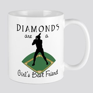 Diamonds - Girl's Best Friend Mug