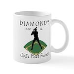 Diamonds - Girl's Best Friend Mug