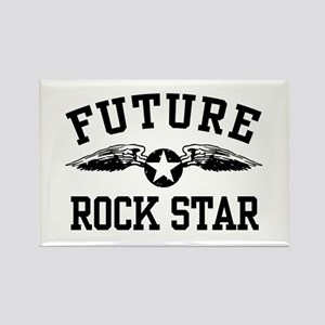 Future Rock Star Rectangle Magnet