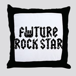 Future Rock Star Throw Pillow