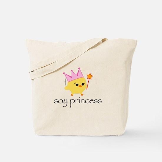 Soy Princess Tote Bag