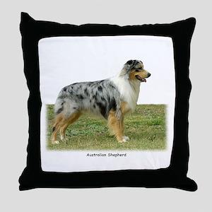 Australian Shepherd 9K7D-20 Throw Pillow