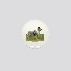 Australian Shepherd 9K7D-20 Mini Button