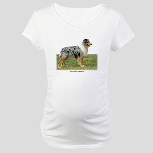 Australian Shepherd 9K7D-20 Maternity T-Shirt