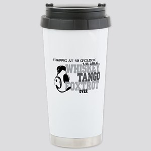 Aviation Humor Stainless Steel Travel Mug
