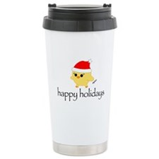 Soychick Holiday Stainless Steel Travel Mug