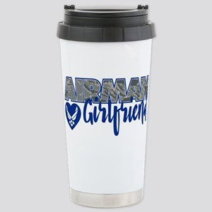 Airman Girlfriend Stainless Steel Travel Mug