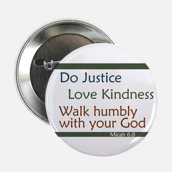 Micah 6:8 Button