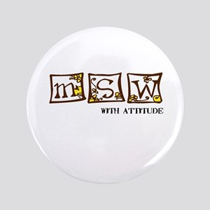 """MSW with attitude 3.5"""" Button"""