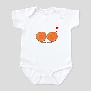 Orange Crush! Infant Bodysuit