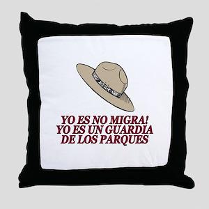 Yo Es No Migra Throw Pillow