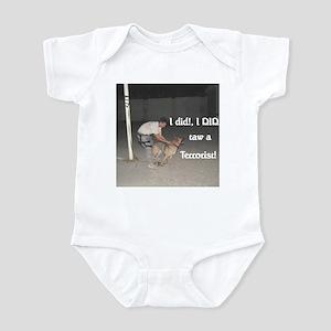 Taw A Terrorist Infant Bodysuit