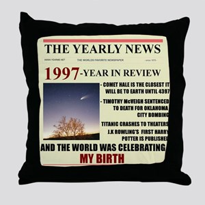born in 1997 birthday gift Throw Pillow