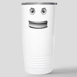 I-Beam Face Stainless Steel Travel Mug