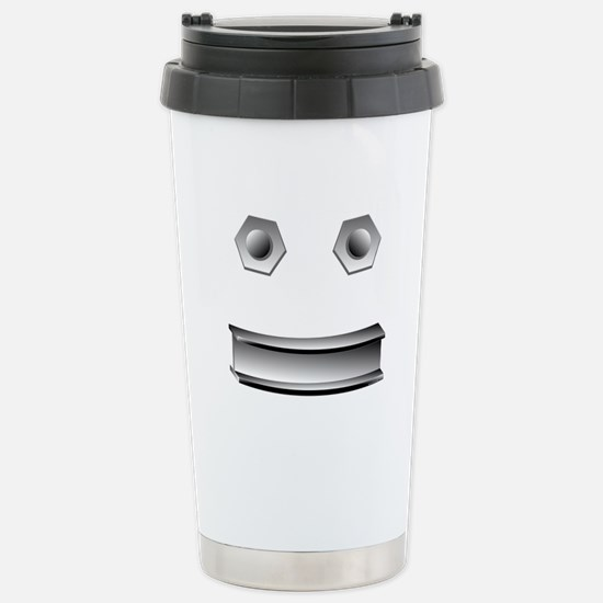I-Beam Face Stainless Steel Travel Mug
