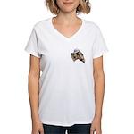 Democratic Donkey Women's V-Neck T-Shirt