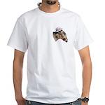 Democratic Donkey White T-Shirt