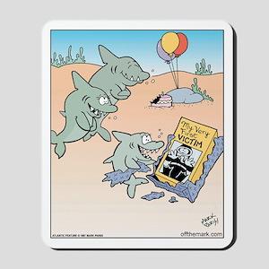 Shark Birthday Present Mousepad
