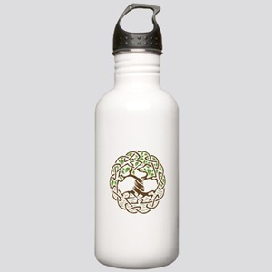 Celtic Tree of Life wi Stainless Water Bottle 1.0L