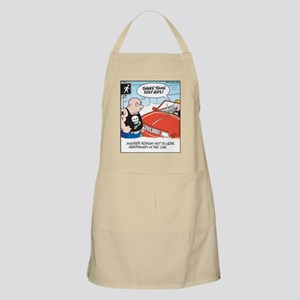 Headphones while Driving BBQ Apron