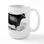 "Devon Cow ""Nemophilla"" large mug"