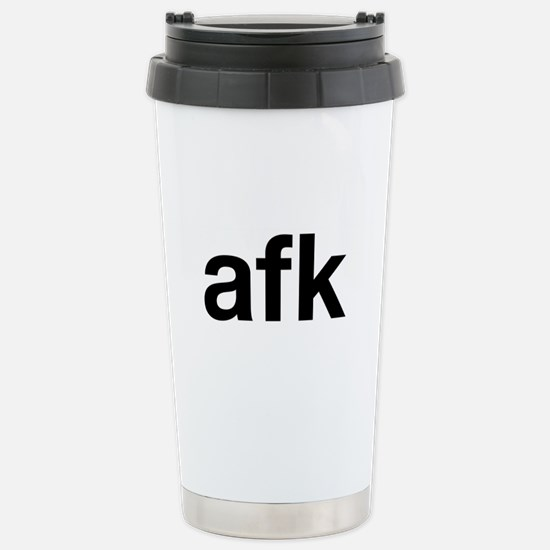 afk Stainless Steel Travel Mug