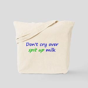 Spit Up Milk Tote Bag