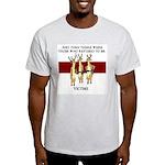 Not Victims Light T-Shirt