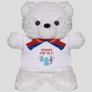 Snowmen Gone Wild! Teddy Bear