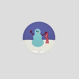 Snowmen Gone Wild! Mini Button