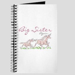 Unicorn Big Sister Again Journal