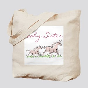 Unicorn Baby Sister Tote Bag