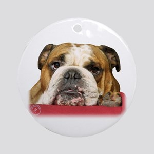 Bulldog 9W099D-039 Ornament (Round)