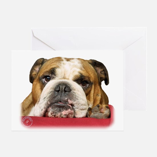 Bulldog 9W099D-039 Greeting Card