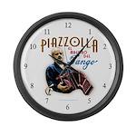 Piazzolla Tango Large Wall Clock