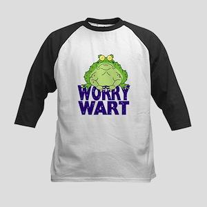 Worry Wart Kids Baseball Jersey