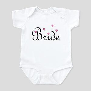 Bride (Pink Hearts) Infant Bodysuit