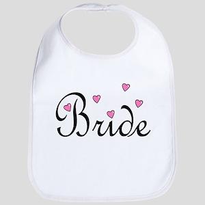 Bride (Pink Hearts) Bib