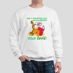 Use Your Brain Garfield Sweatshirt