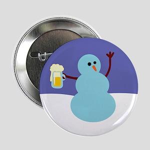 """Snowmen Gone Wild! 2.25"""" Button"""