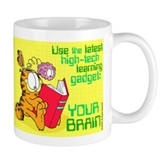 Use Your Brain Garfield Mug