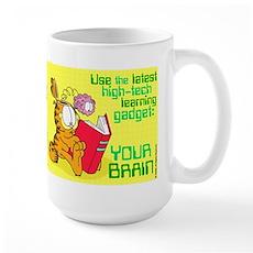 Use Your Brain Garfield Large Mug