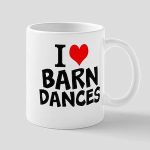 I Love Barn Dances Mugs