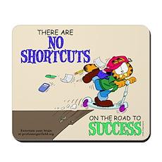 No Shortcuts to Success Mousepad