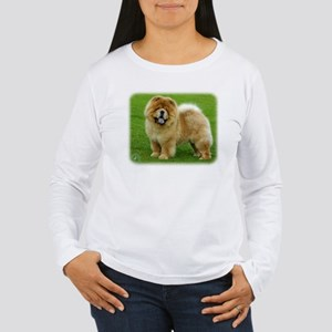 Chow Chow 9B008D-06 Women's Long Sleeve T-Shirt