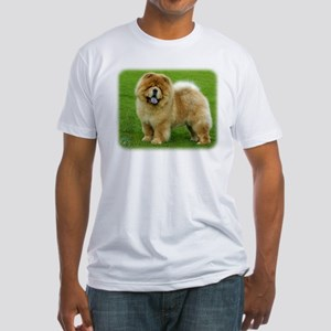 Chow Chow 9B008D-06 Fitted T-Shirt