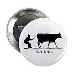 "Ski Iowa 2.25"" Button (10 pack)"